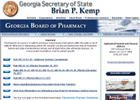 Georgia Board of Pharmacy